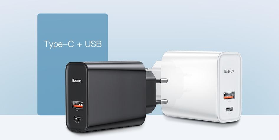 Зарядное устройство Baseus Quick Charge 4.0