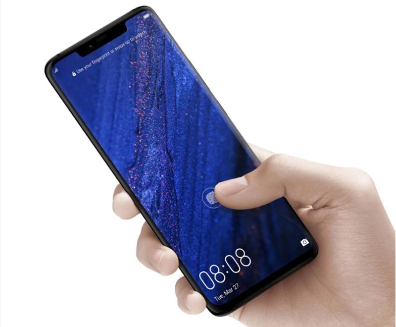 Смартфон со сканером отпечатков пальцев Huawei Mate 20 Pro