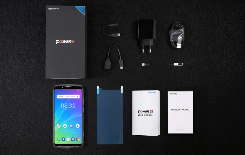 Комплектация Ulefone Power 5S