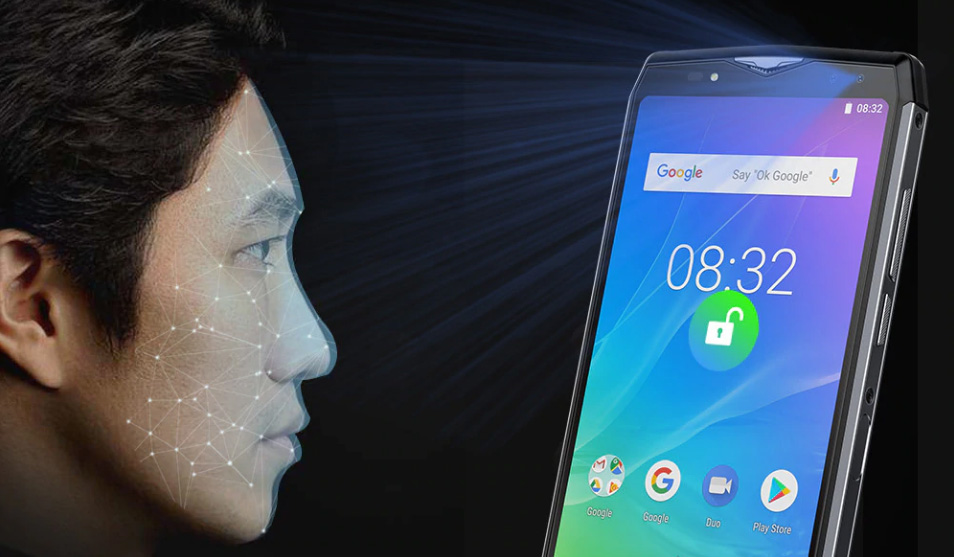 Face ID в смартфоне Ulefone Power 5S