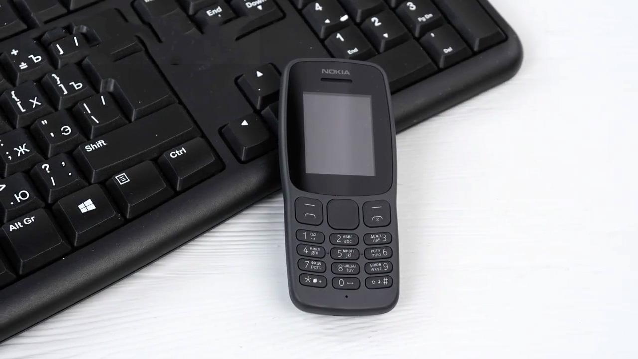 Телефон с двумя симками Nokia 106 new DS