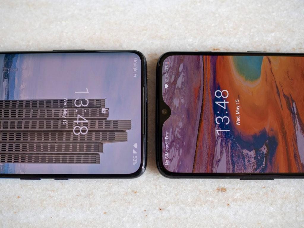 OnePlus 7 Pro против OnePlus 6T