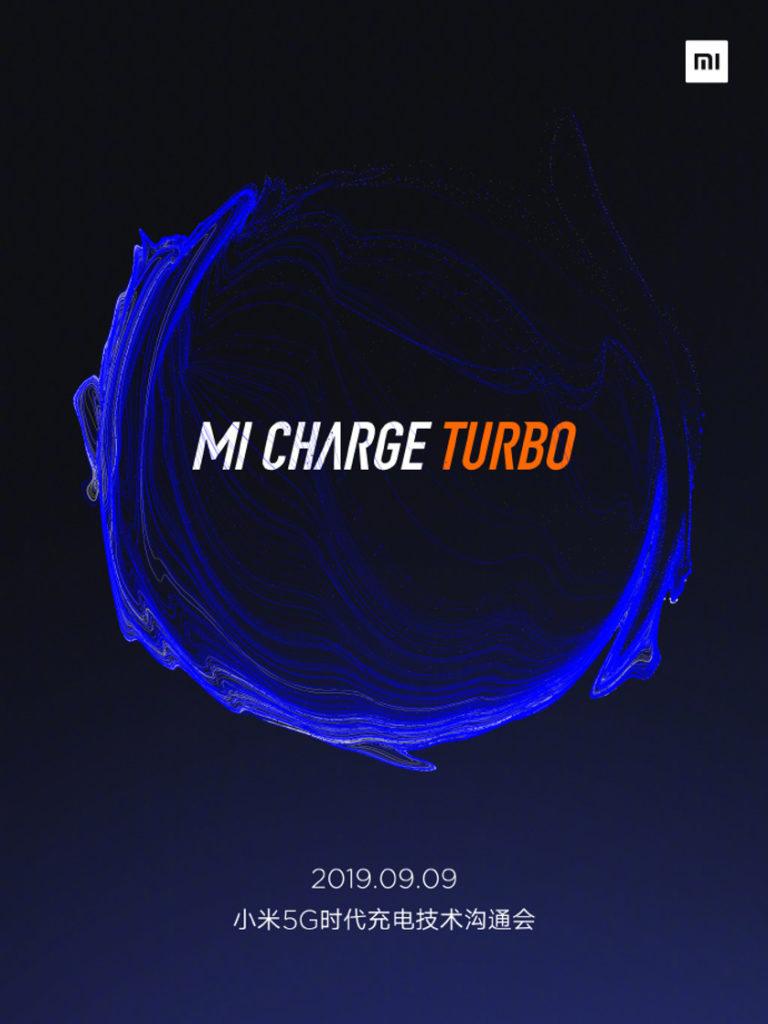 Быстрая зарядка Mi Charge Turbo