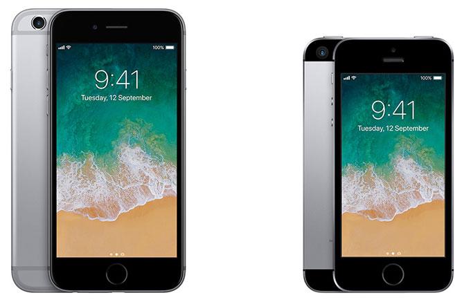 iPhone 6s и iPhone SE