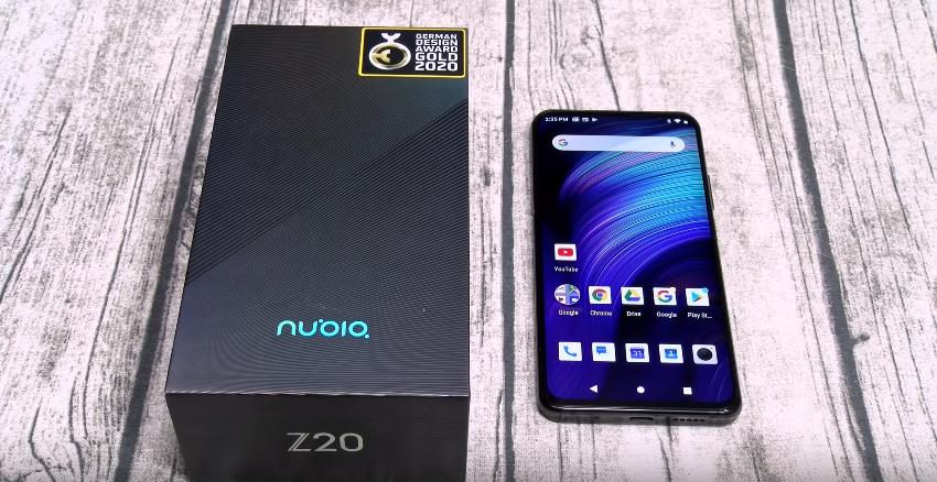 Смартфон с 2 дисплеями Нубия Z20