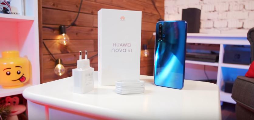 Комплектация Huawei Nova 5T