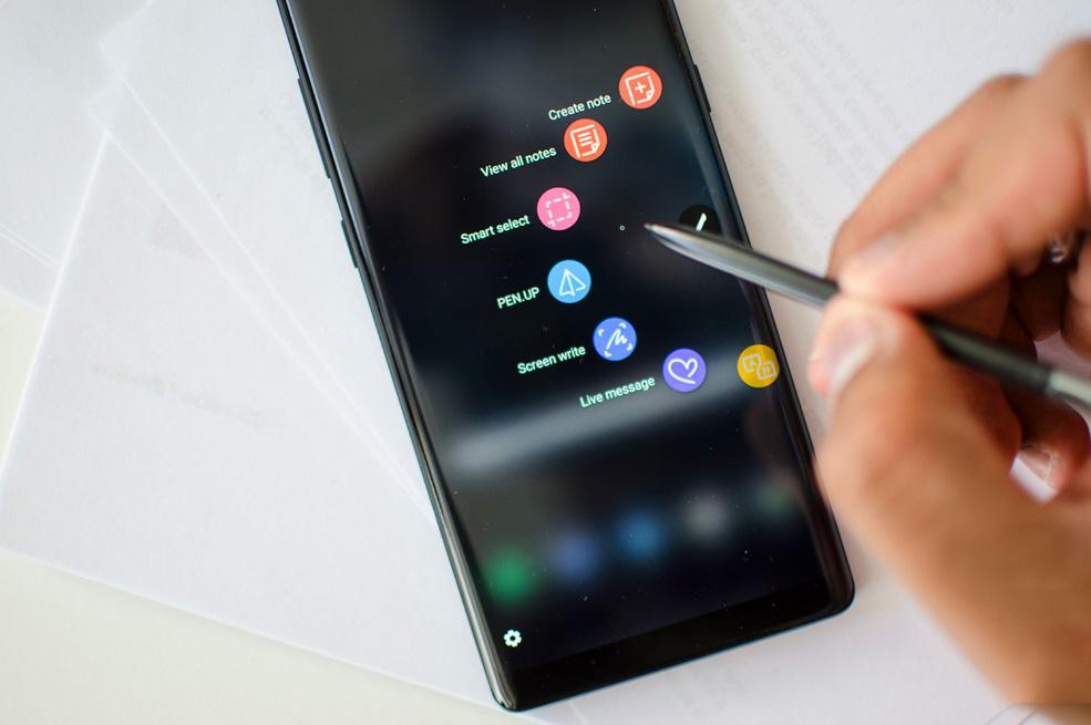 Скриншот на Самсунг с S Pen