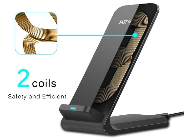 Dcae Fast Charrge - беспроводная зарядка для смартфонов Xiaomi