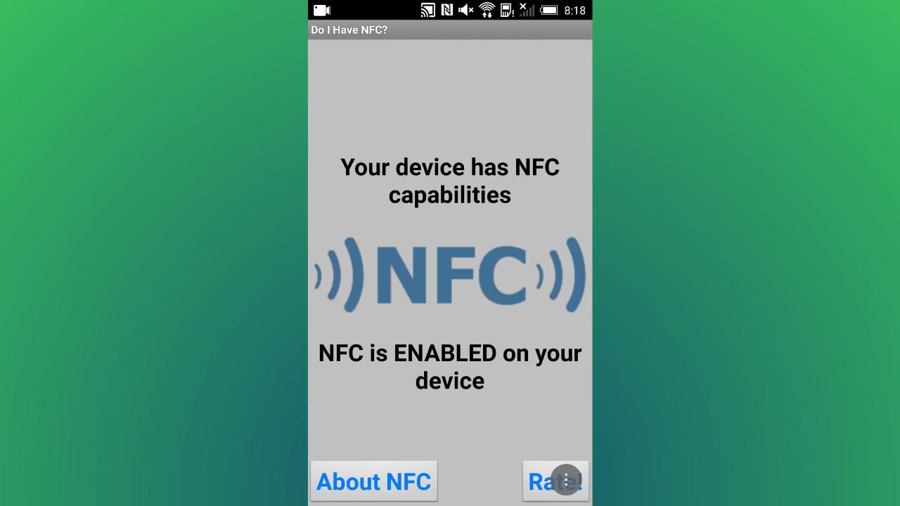 Как узнать, есть ли в смартфоне NFC