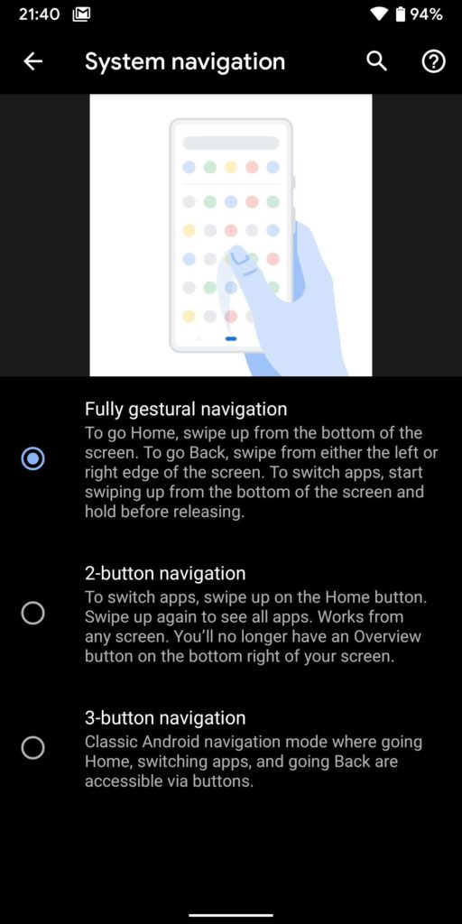 Обзор и дата выхода Android Q 10