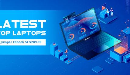 Супер-распродажа ноутбуков в Gearbest