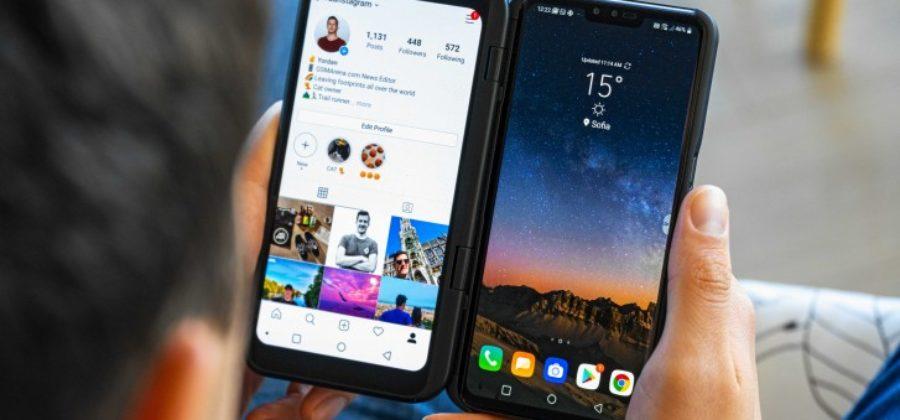 LG V50 ThinQ 5G — флагман с двумя дисплеями