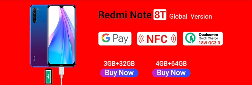 Redmi Note 8T Aliexpress