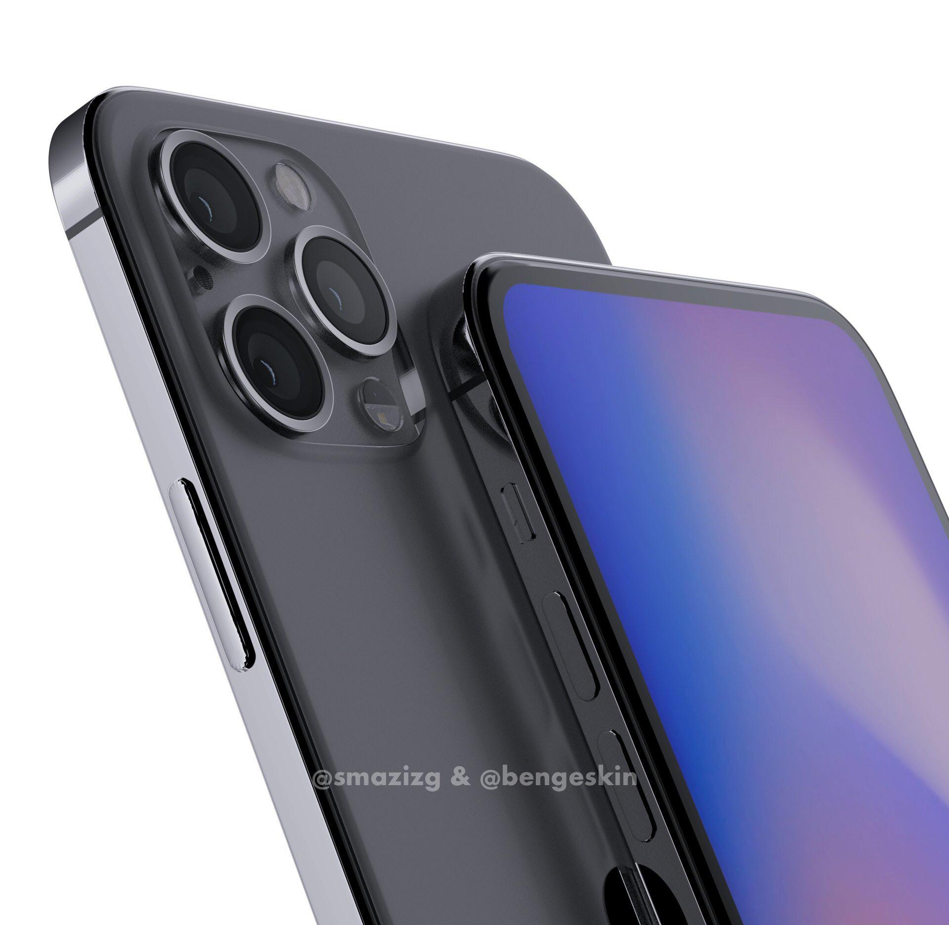 Дизайн Айфона 12