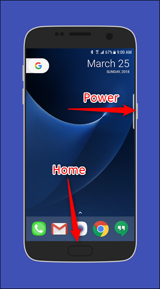 Как сделать скриншоты на Galaxy S7