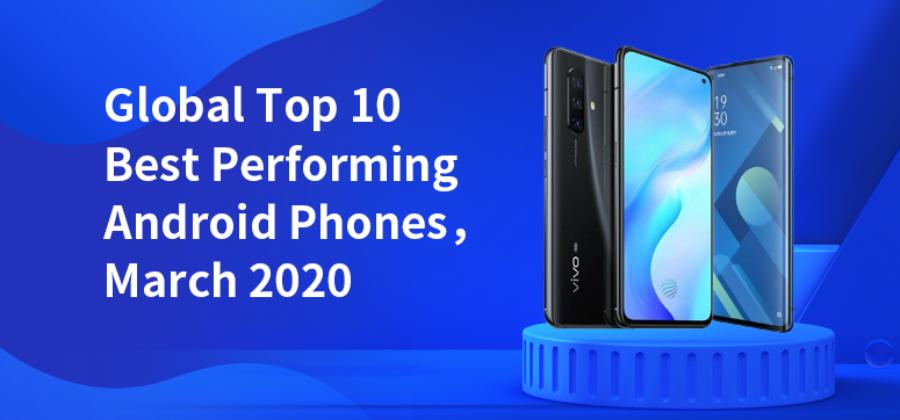 10 лучших телефонов по версии Антуту в марте 2020 года