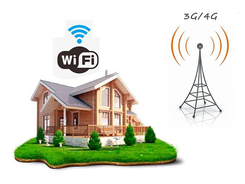 Wi Fi mobile na dache